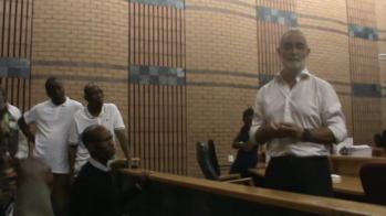 Geoff Budlender giving post mortem on Rule 7 Appeal hearing 08 12 2017